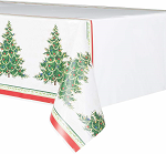 Holiday Christmas tree table cloth 54